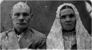 Иллюстрация 8. Супруги Гарифуллины. Снимок начала ХХ века
