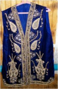 Иллюстрация 10. Казахский жилет. Фото М.Г. Хрущевой. 1 мая 2011.